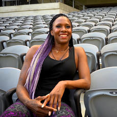 Tasha Danvers, Track & Field Olympian