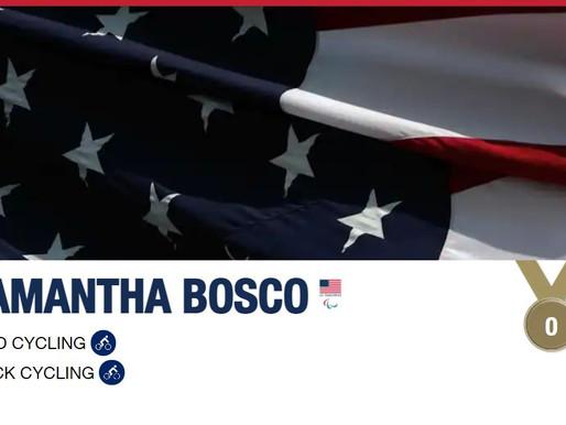Samantha Bosco (Paralympic road/track cycling)