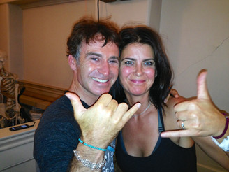 with my yoga idol Eoin Finn