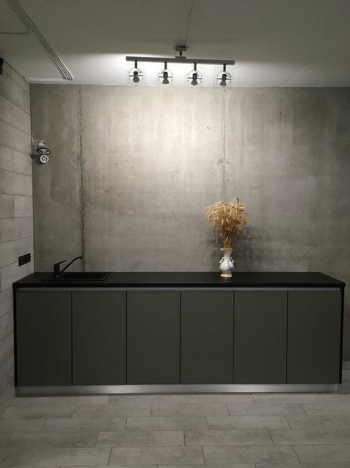 Офисная кухня в стиле лофт