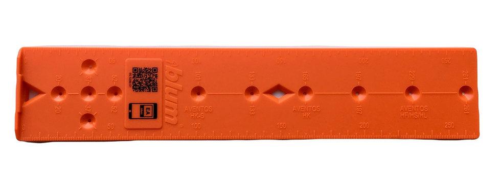 Шаблон для Ответных планок петель и подъёмных механизмов Blum 65.5340