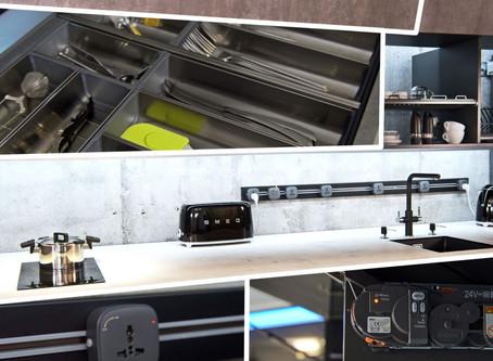 Электронная  кухня на заказ  2020 Servo-Drive Blum