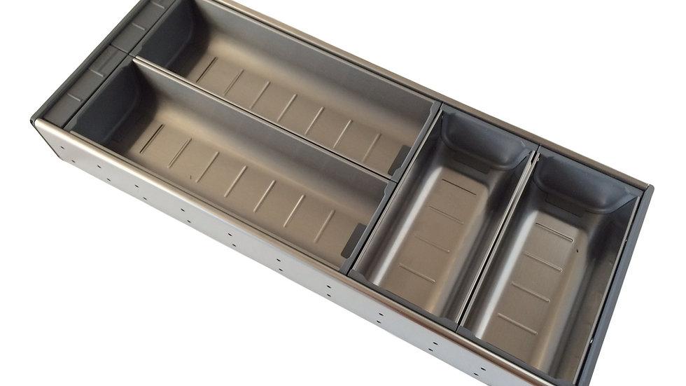 Лоток для столовых приборов Orga-Line Blum L-500 Двойной