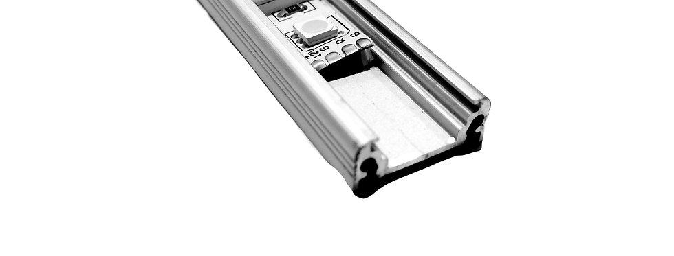 Алюминиевый профиль для лед ленты (накладной)