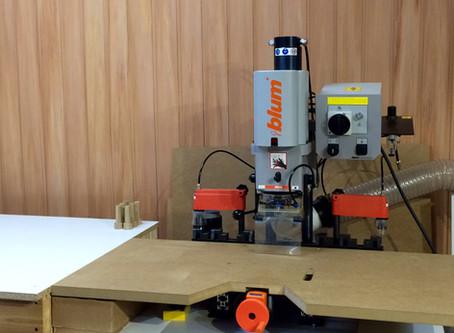 Подключение станка Blum Minipress P