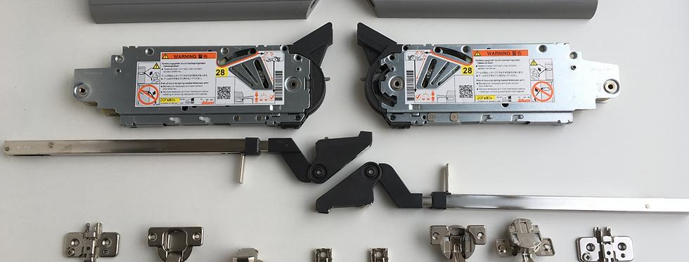 Подъемный механизм Blum Aventos HF 20F2800 + 20F3800