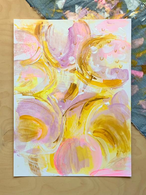 acrylics on paper | 30x40cm