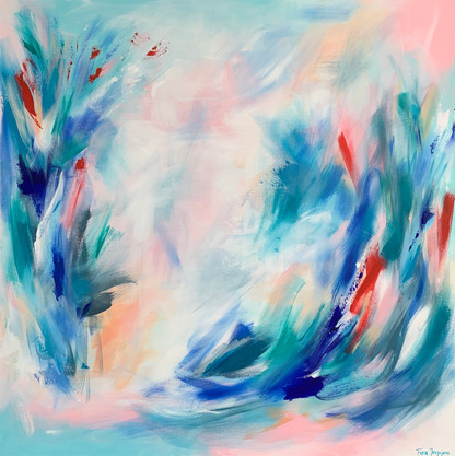 The fire of spring (SOLD)