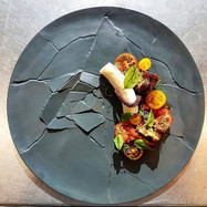 #octopus #garlic #tomato #chefjamesoakley #alibiwinedinebesocial #cordishk #finedining #grateplates #instalike #instafood #instacool #instac