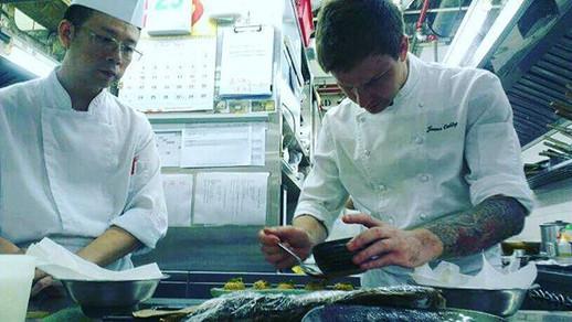 #hongkong#armaniaqua#chefjamesoakley#cheflife