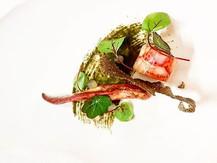 #lobster #bergamot #nori #chefjamesoakley #thestaffcanteen #foodstarz_official #finedining #michelinstar #theartofplating #foodpic #foodart_