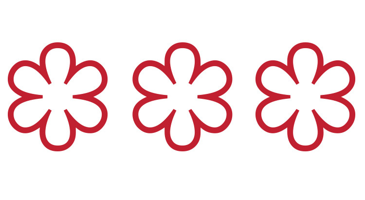 How many 3 Michelin star restaurants worldwide?