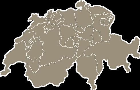 Einsatzgebiet Alain Zenger | Bern | Interlaken | Luzern | Freiburg | Wallis