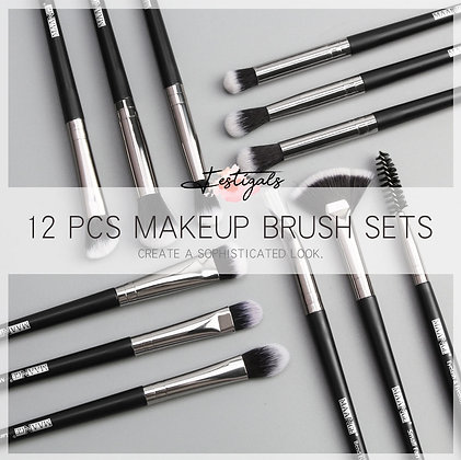 12 professional makeup brushes Maange