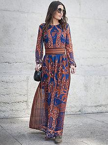 robe longue zara sos festigals soldes avis instagram