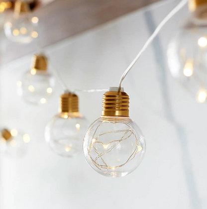 Guirlande Lumineuse 10 LED 4M Ampoules Or Noël Fêtes sapin de Noel 2019 festigals idée cadeau et décoration pas cher
