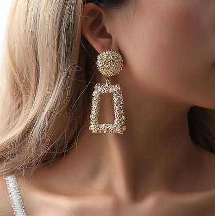 Boucles d'oreilles Géométriques Diamonds