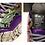 Thumbnail: Sneakers Multi à plateformes Crazy Cuir véritable HQ