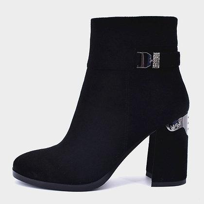PREMIUM Bottines en cuir noire et Suédine Talons 9cm San Marina Eram The Kooples Zalando 2019 chaussures femme