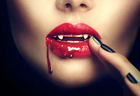 Halloween - Dents de vampire