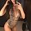 Monokini Plongeant Imprimé DIY Wild Swimwear swimsuit 2019 sexy hot printed animals leopard snake deep v plunge