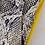 Pantalon Imprimé Serpent Longueur Chevilles