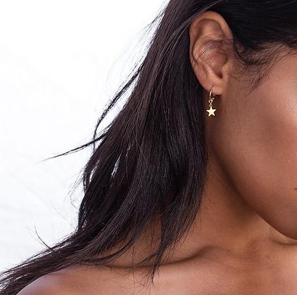 Boucles d'oreilles étoiles dorées earrings golden stars cheap quality premium festigals 2019 bijoux pas cher femme