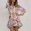 Robe Chemise Printanière Fleurie Lisa Ruffles floral spring dress 2019 festigals zara asos river island forever21 soldes