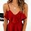 Robe Rouge Dos Nu Eleganza robe d'été zara asos vinted livraison gratuite soldes promos 2019 bohème