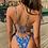 Maillot de bain bikini asos fleuri bleu royal boohoo etam missguided asos festigals festival fête festif neuf vinted soldes