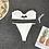 Bikini 2pcs Brésilien Emrata Maillot de bain pas cher push-up 2019 festigals asos h&m