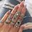 Bijoux Set 15 Bagues Argentées Boho Crush Ethnic rings set cheap dixii soldes 2019 Festigals