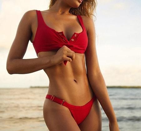 Bikini en Coton Boutons Kara Jewell