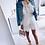 Robe blanche à pois 2019 soldes ootd SANANAS instagram festigals