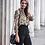 Chemise imprimée serpent blouse serpent Snake shirt 2019 festigals vêtements mode femme pas cher