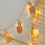 Guirlande Lumineuse Ananas Cuivre lights led pineapple garland christmas new year decoration