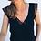 Top Noir Dos en V en dentelle Julia prettywire style soldes promos festigals 2019 vêtements femme pas cher