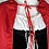 Déguisement Petit Chaperon Rouge Cape mi-longue festival party costume birthday cheap women adult little red riding hood