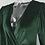 Thumbnail: Body Décolleté en Velours Vert