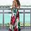 longue robe d'été maxi fendue imprimé fleurie zara mango asos river island ba&sh sezane missguided festigals.fr vinted soldes