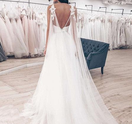 Robe de mariée Dos nu Elegancia