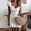 Robe Blanche Brodée Glamorous Mura style Jodie la petite frenchie @jodielapetitefrenchie