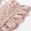 Robe Rose Pâle Volants Décolletée Olsho Zara style 2019 festigals