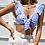 Thumbnail: Blue striped bralette tied in front