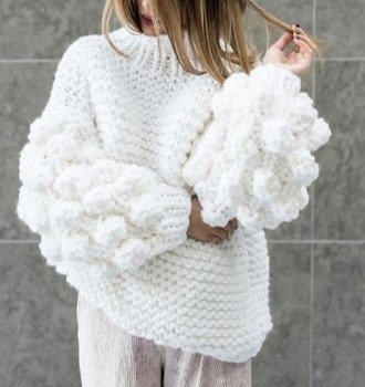 Pull Oversize Manches Boules Bad Mums