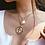 Collier doré multirangs 2019 bijoux femme pas cher asos moah lou ye tu