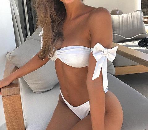 Bikini Blanc Nœuds Tender Sweetness