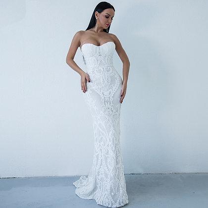 Robe de mariée Bustier Sirène Sulfureuse