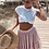Jupe d'été taille haute Rose Polka dots spring skirt 2019 festigals asos zara river island find your style