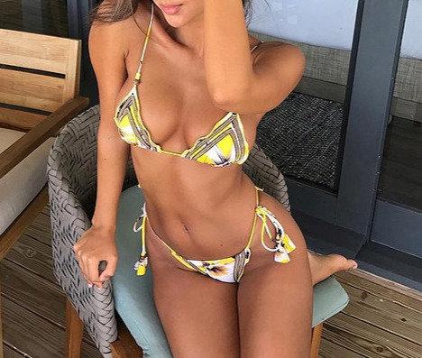 Bikini Yellow Dancing with the Sun
